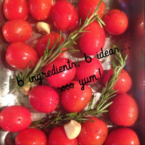 Over Roasted Rosa Tomatoes