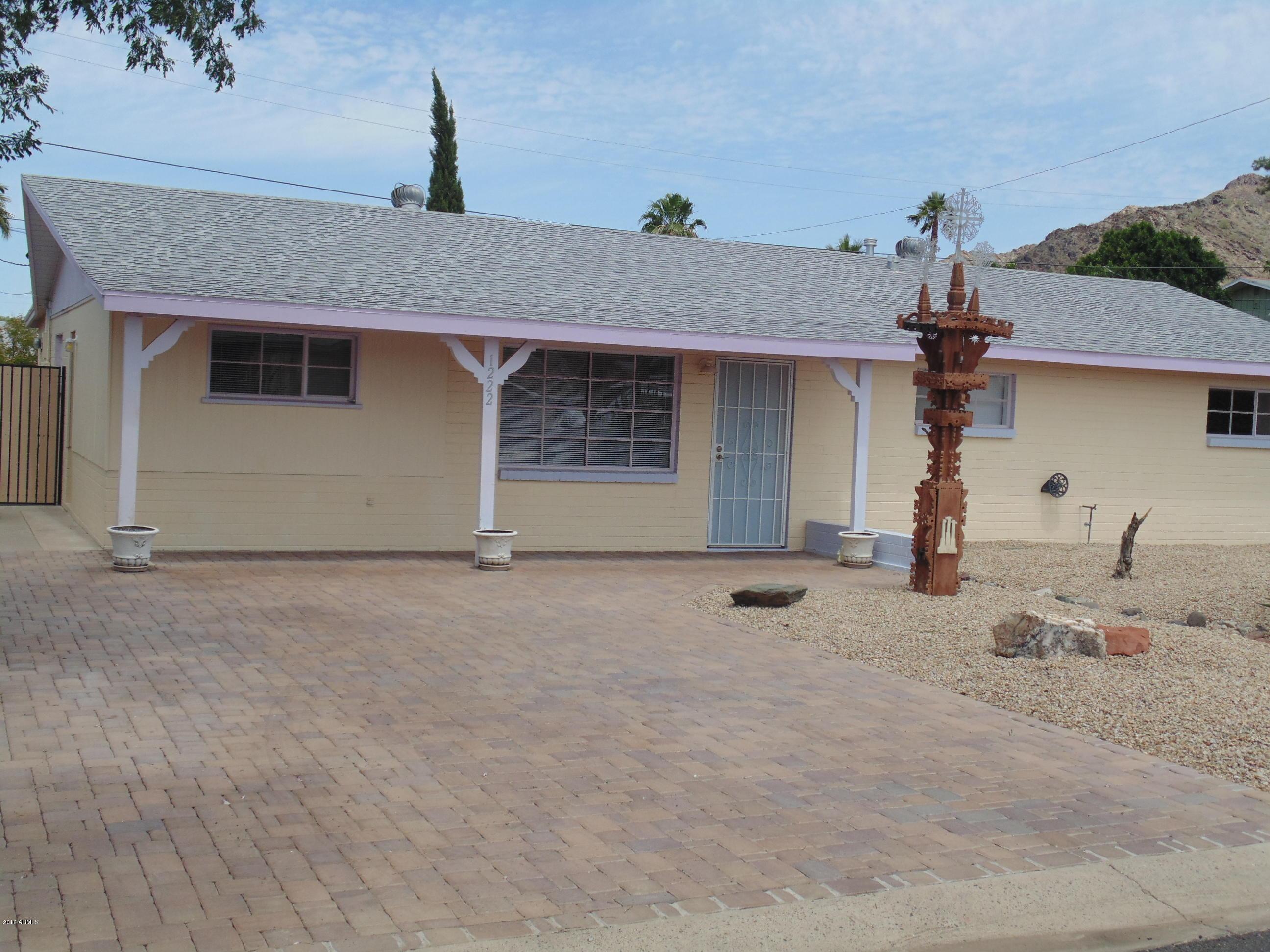 1222 E Griswold  Road  Phoenix AZ 85020