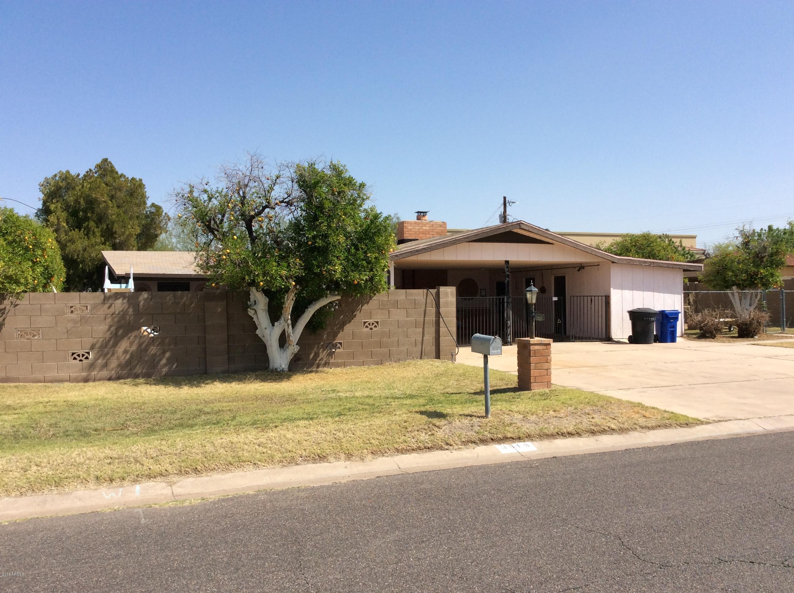 3616 E Arcadia  Avenue  Mesa AZ 85206