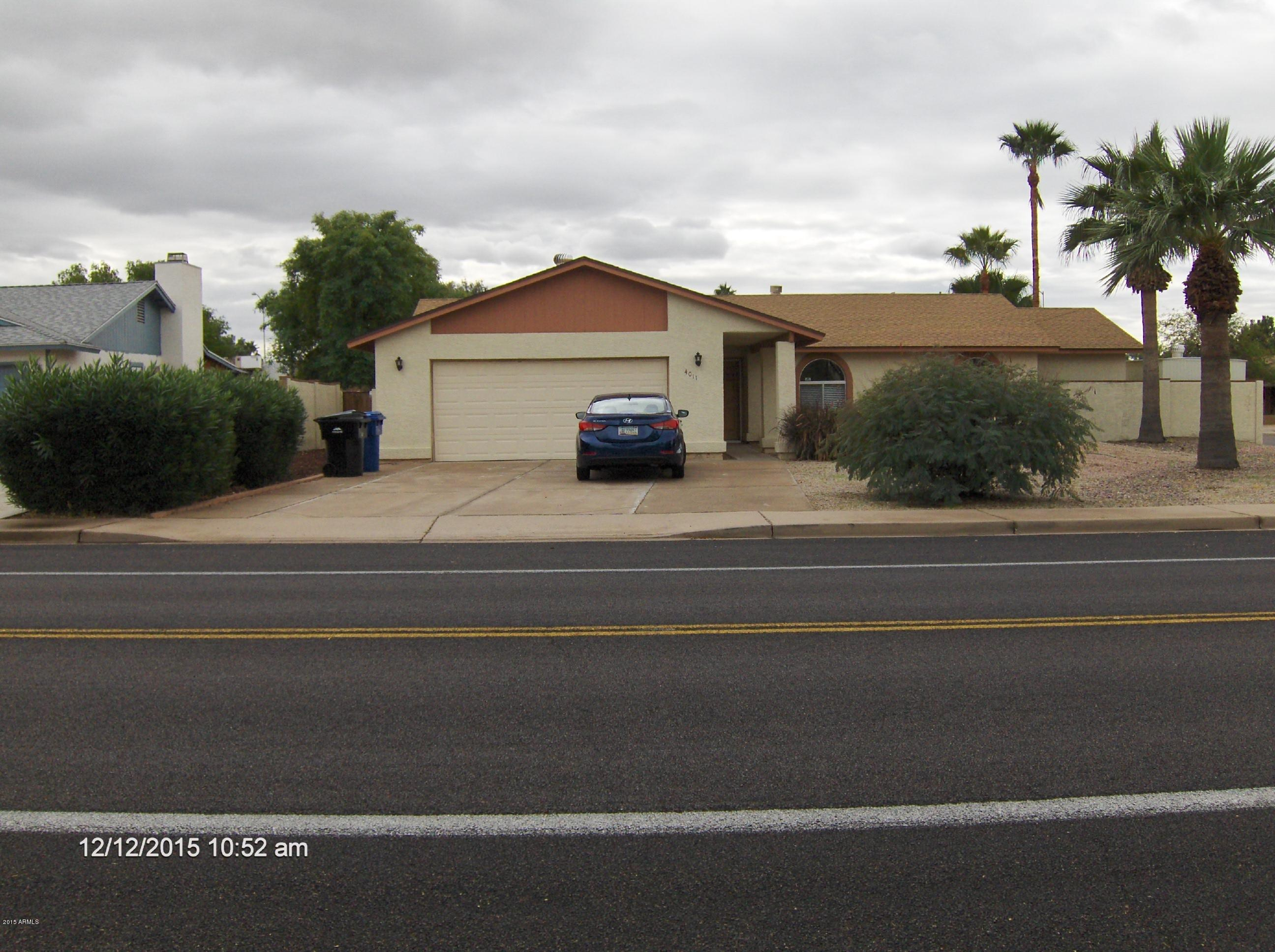 4011 E Adobe  Street  Mesa AZ 85205