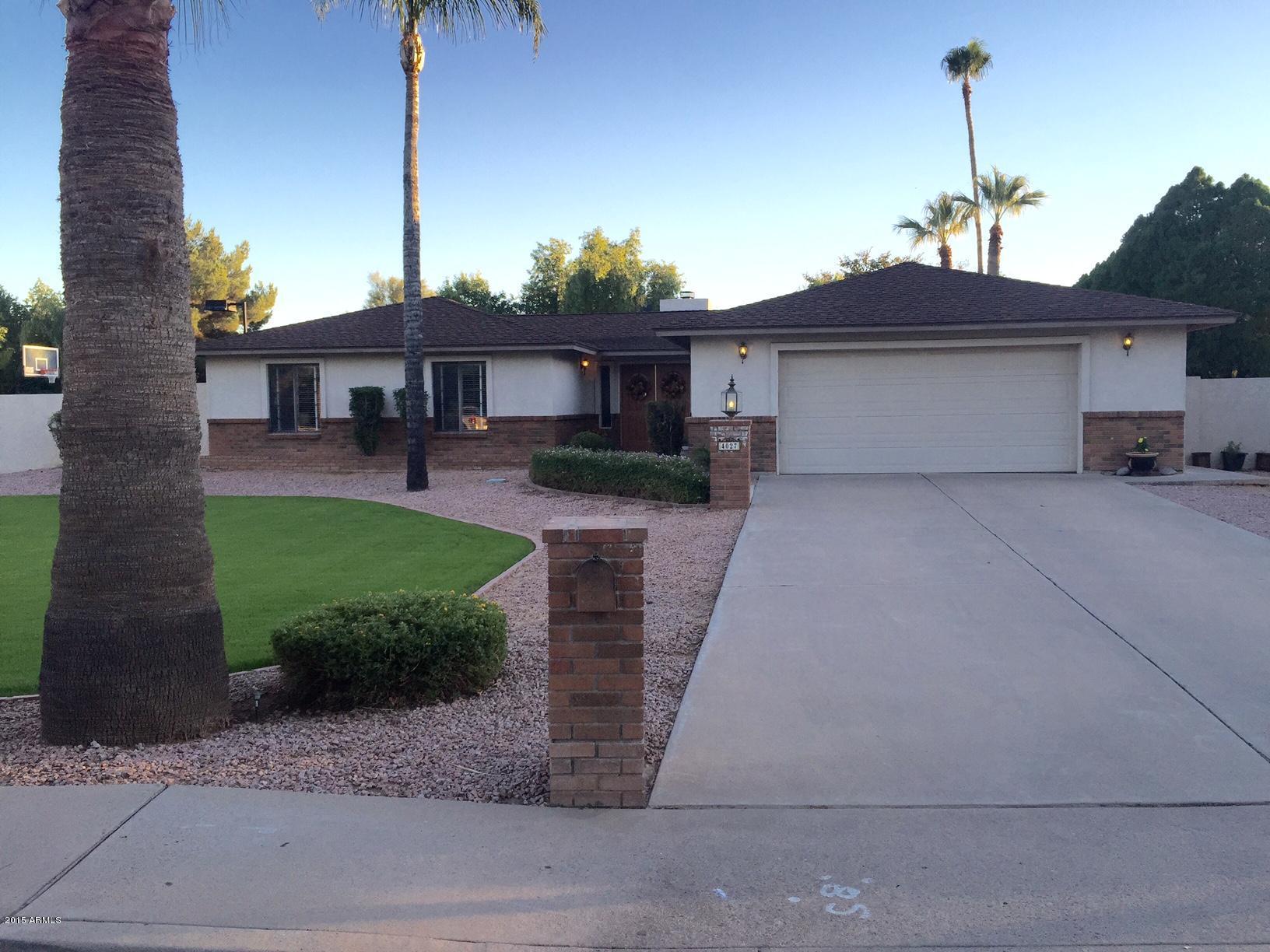 4027 E Grove  Circle  Mesa AZ 85206