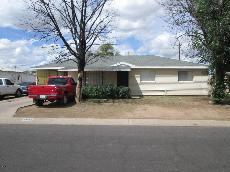 5642 N 34th  Avenue  Phoenix AZ 85017