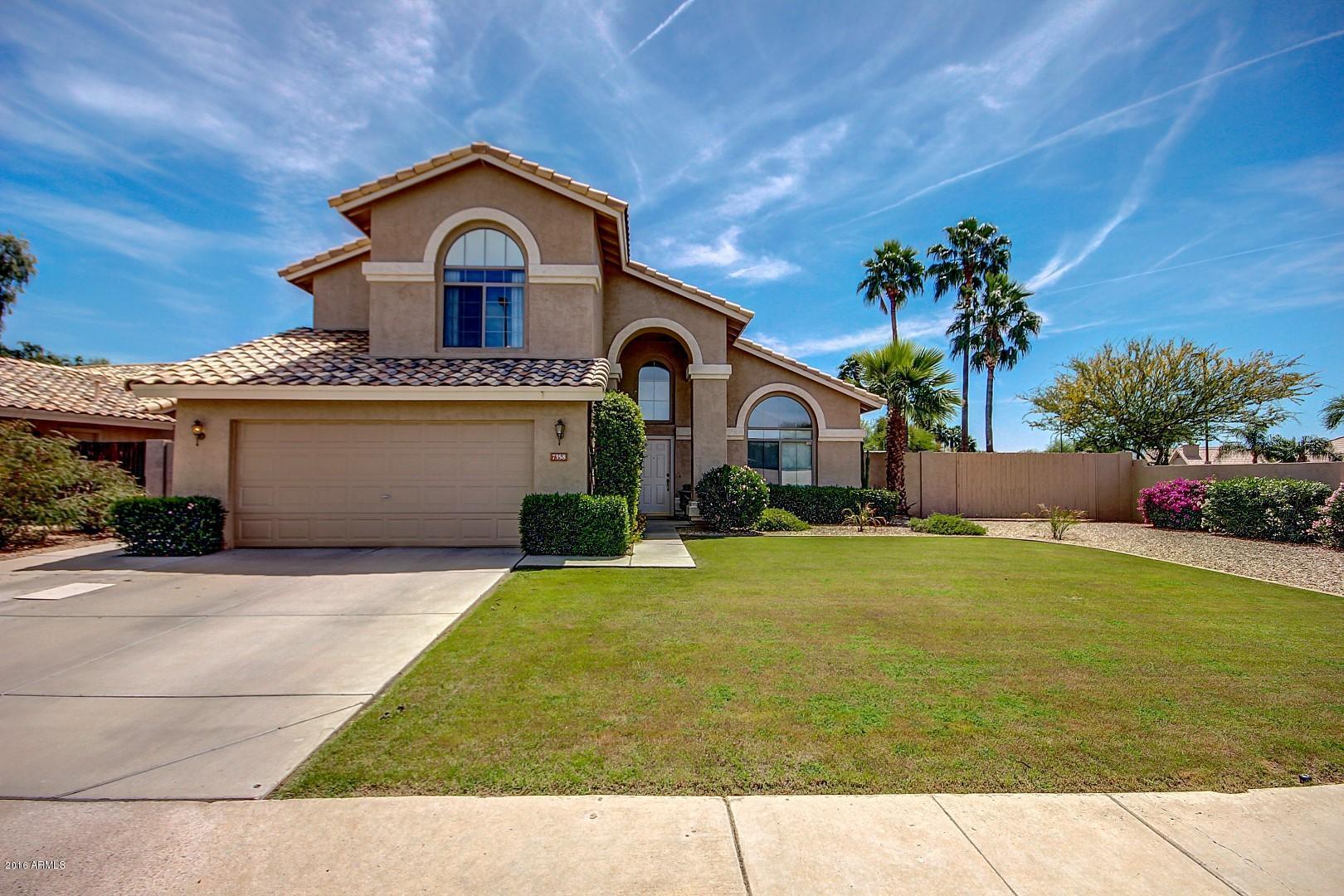 7358 E Monte  Avenue  Mesa AZ 85209