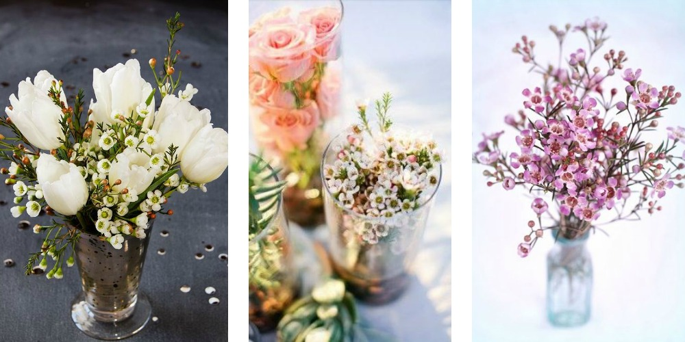 Flowers On A Budget DIY WAX Flower Arrangements