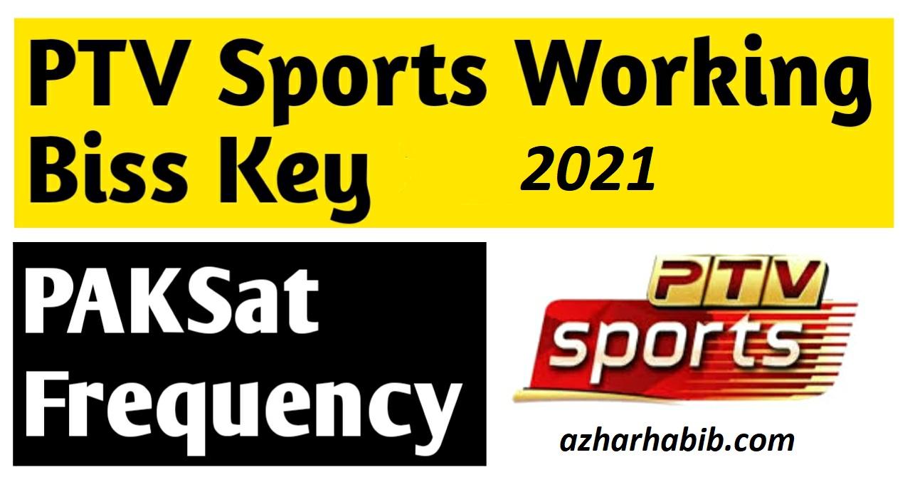 PTV Sports Biss Key 2021