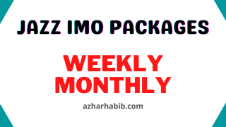 jazz imo packages