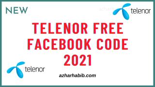 Telenor free Facebook 2021