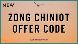Zong Chiniot Offer
