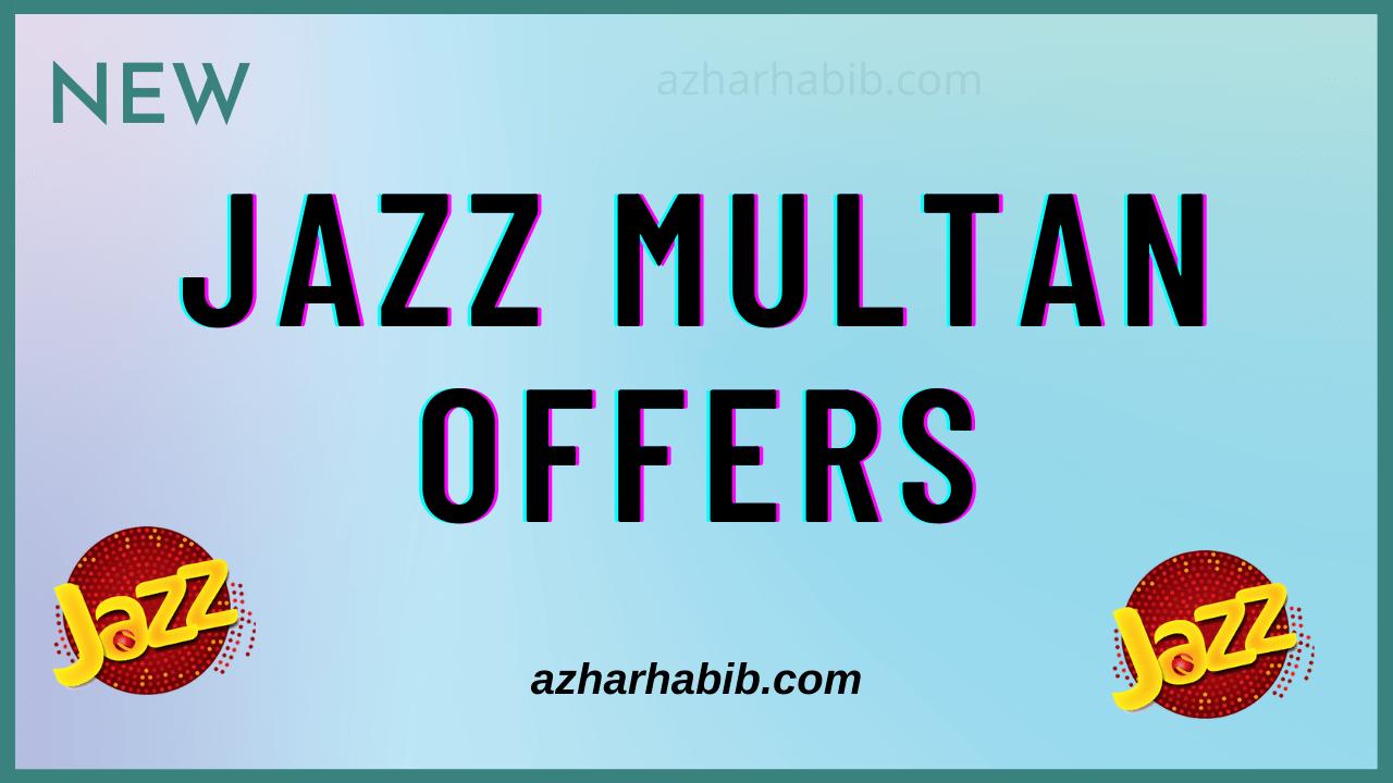 jazz multan offers