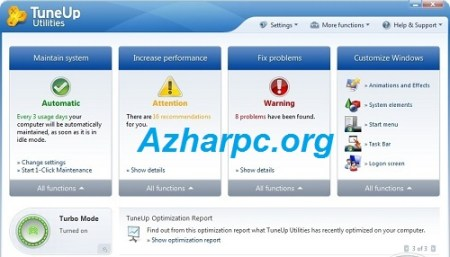 Large Software PC Tune-Up Pro 7.0.1.1 Crack With Download