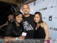 With my producer, Rem, and his wife, Vi