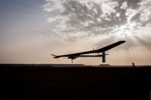 Solar Impulse In Ouarzazate, Morocco