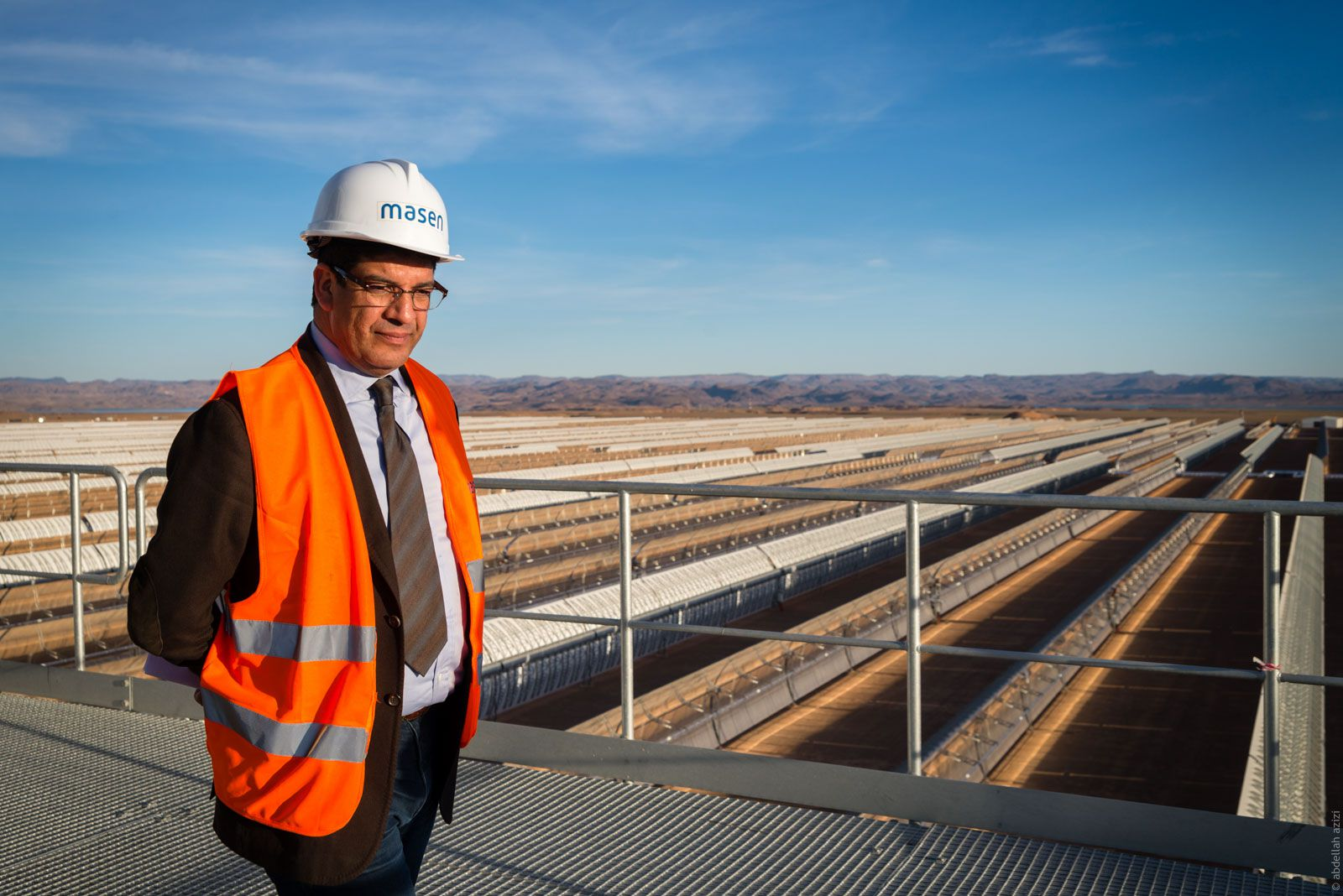 Mr. Mustapha Bakourry de Masen - Ouarzazate Solar Power Station Noor 1