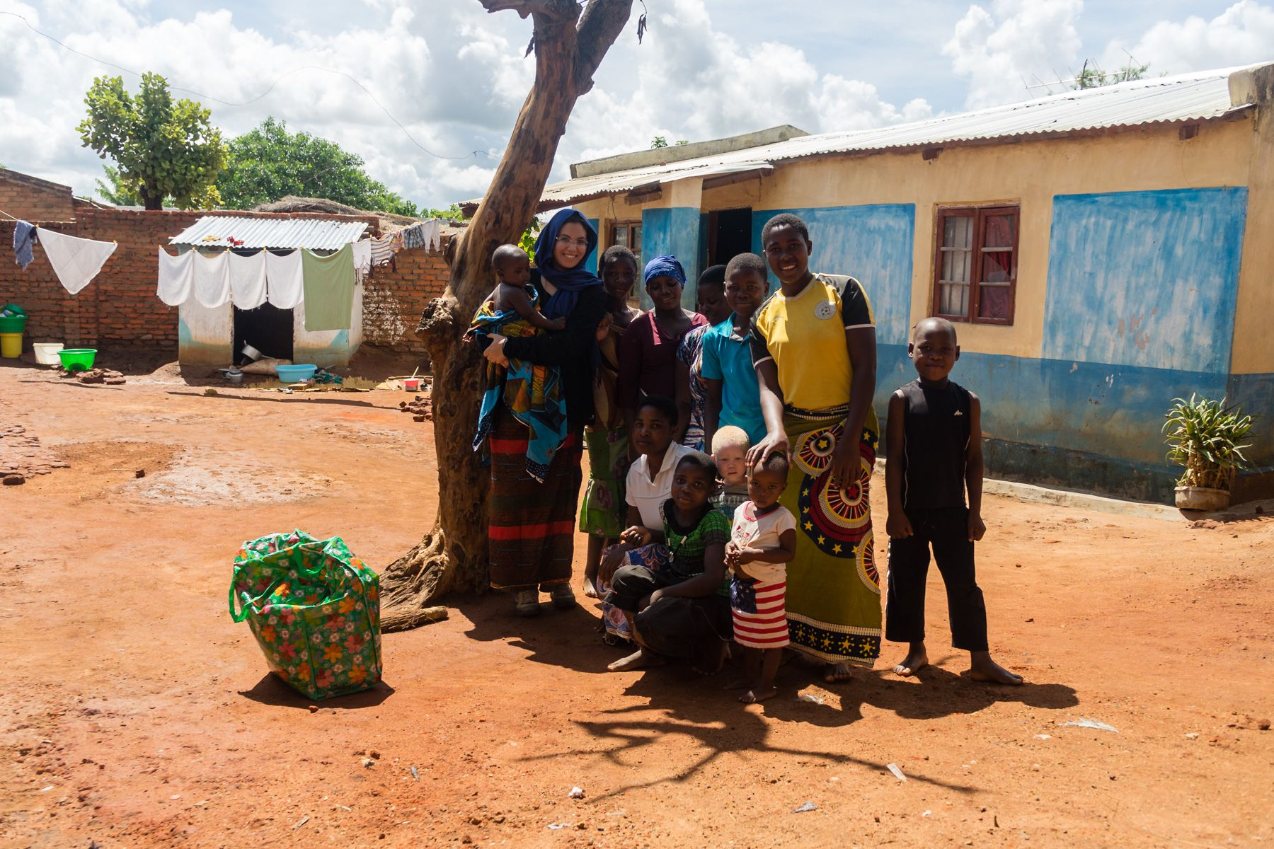 Soukaina and neighbors for the Mitundu village