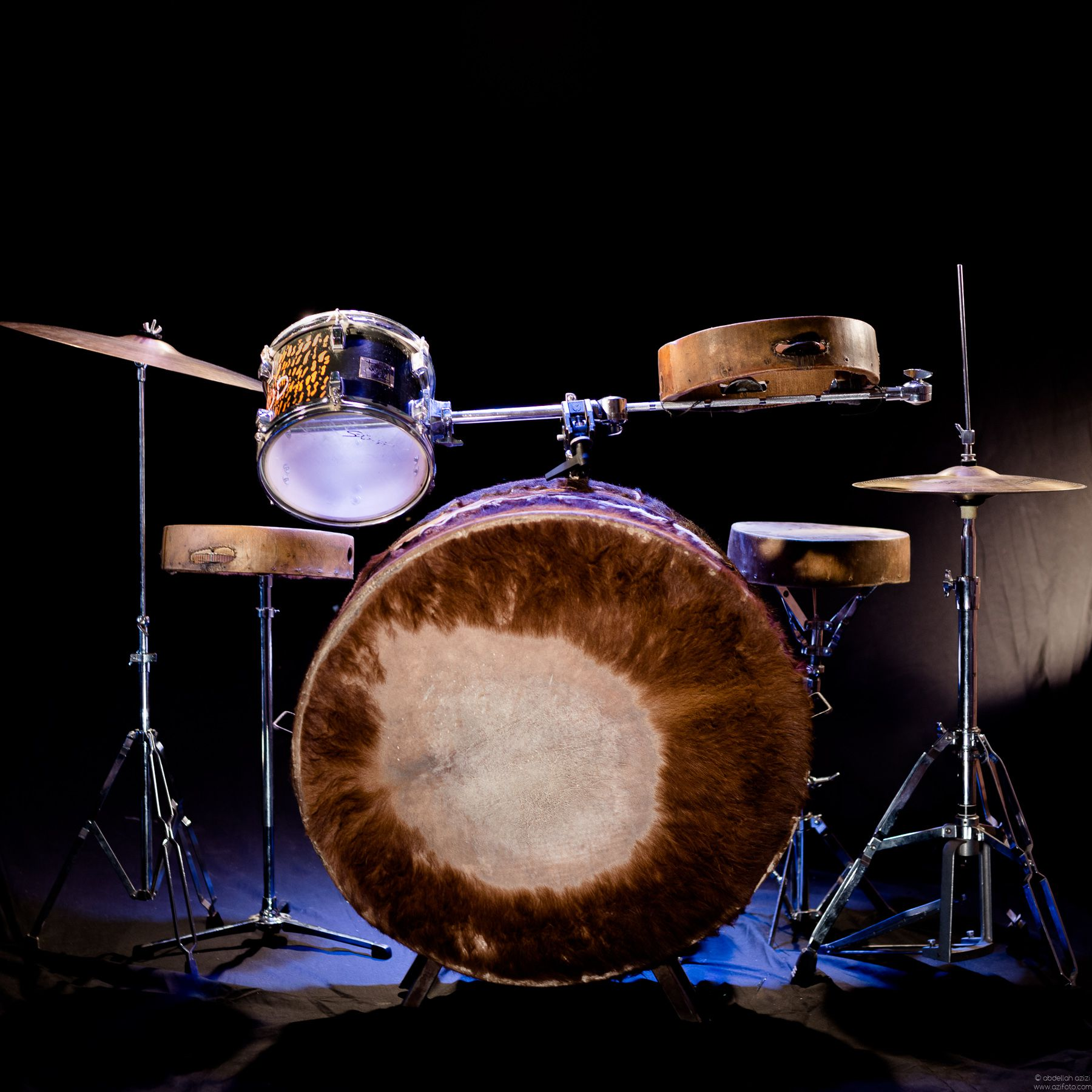 Drums and Bandir
