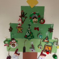 Kids Christmas Tree Craft (Memory Tree)