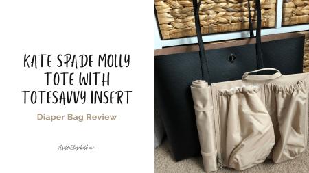 kate spade molly tote with totesavvy insert