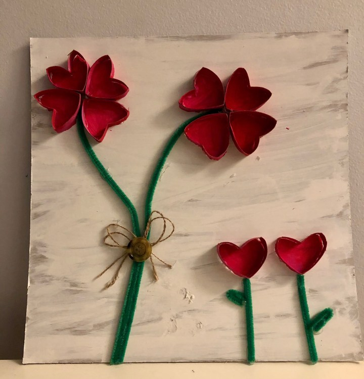 Valentine's Flower Craft