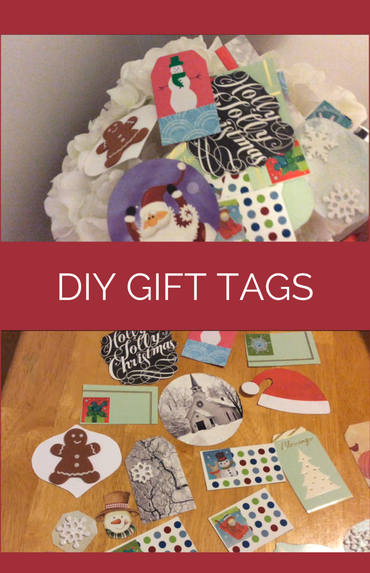 DIY Gift Tags for Christmas (Holiday Cards)