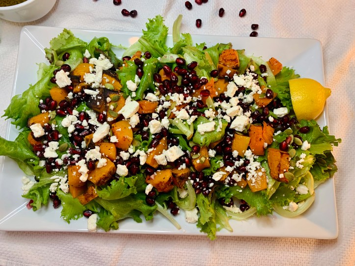 Pomegranate Winter Salad (Perfect for the Holidays)