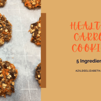 Healthy Carrot Cookies (5 Ingredients)