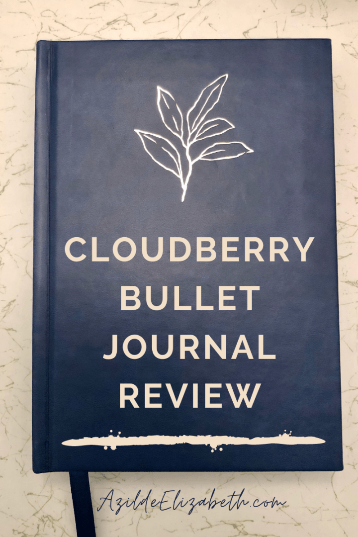Cloudberry Bullet Journal REVIEW