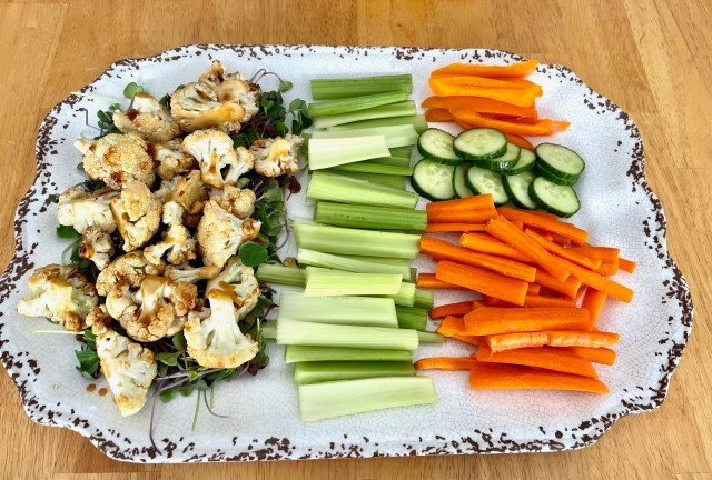 easy vegetable platter