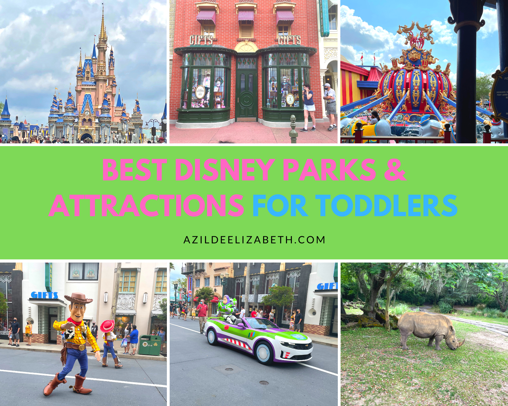 Best Disney Parks and Attractions for Toddlers