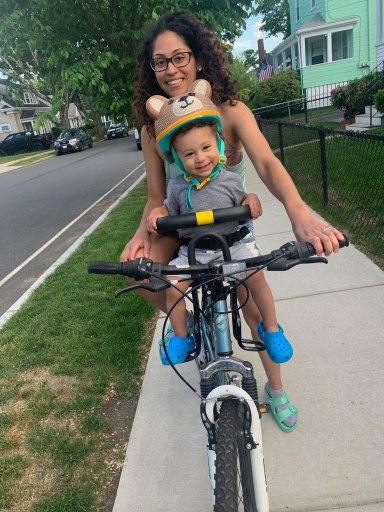 bike riding me and carter