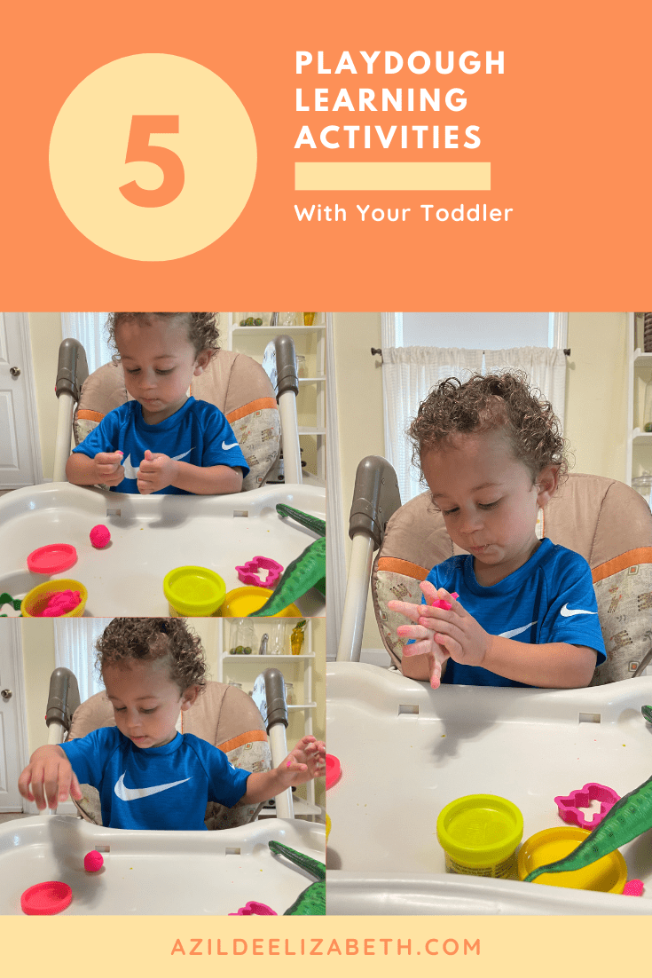 Playdough Learning Activities with your Toddler