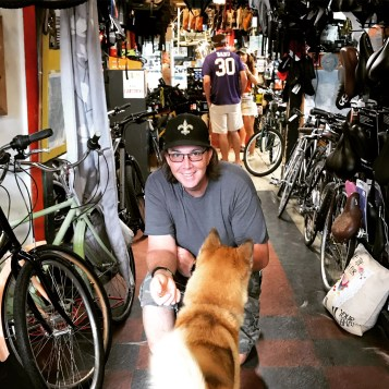 Tim from Bicycle Michaels in New Orleans.
