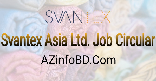 Savantex Asia Job Circular