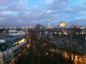 Our view of the London skyline