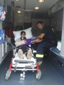 One of the 5 cute paramedics!