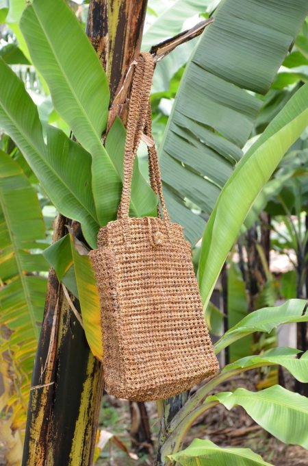Banana Twine Carry-All Tote