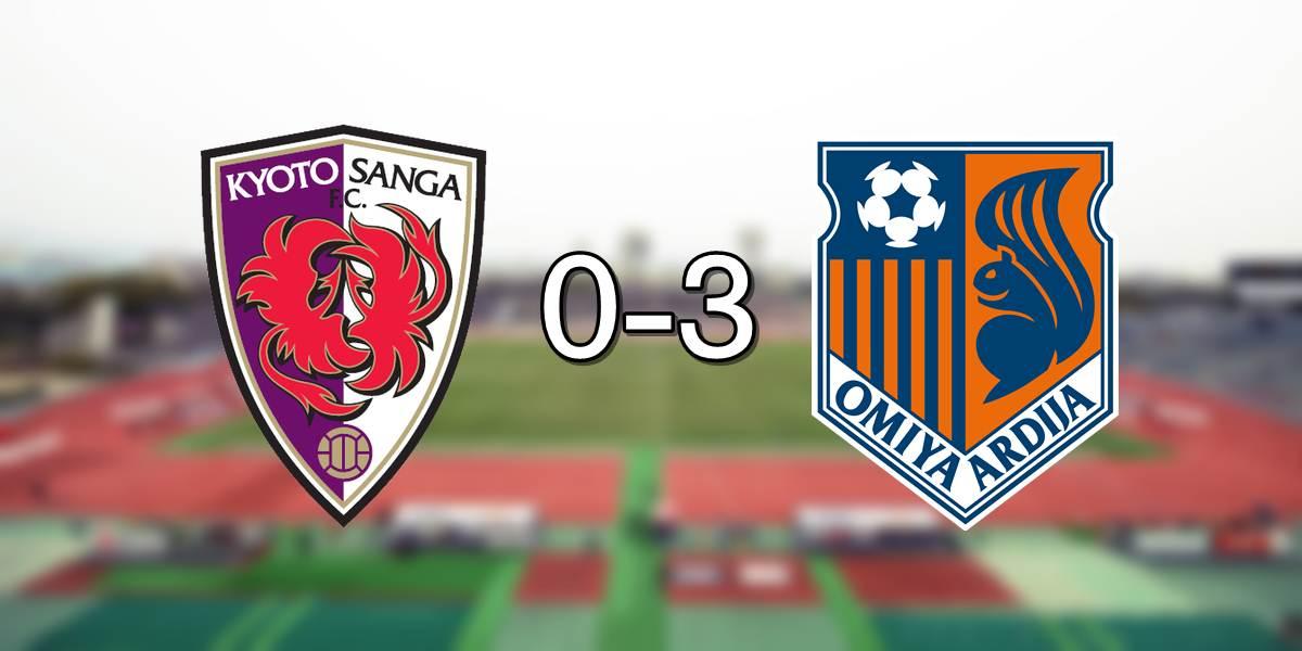 Kyoto 0-3 Omiya