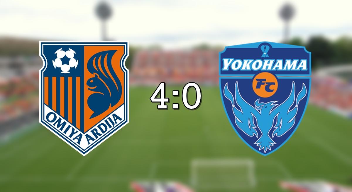 Omiya 4-0 Yoko