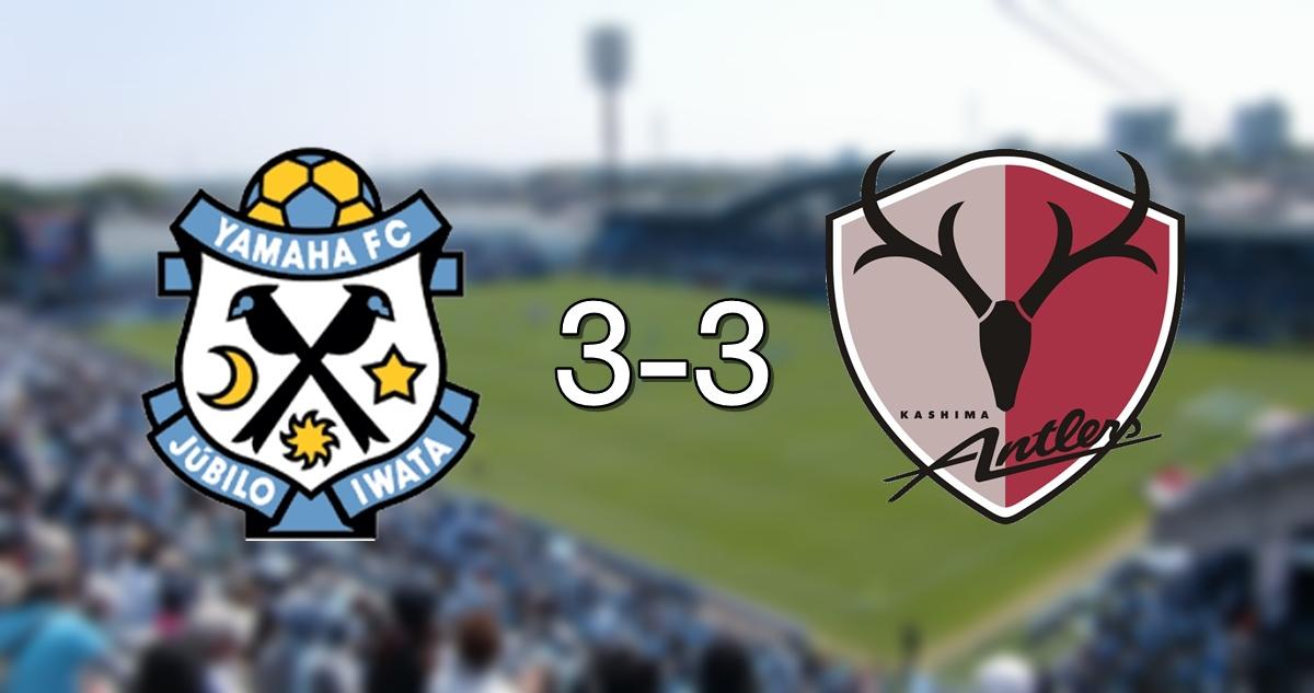Jubilo 3-3 Kashima