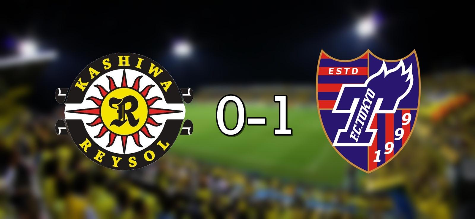 Kashiwa 0-1 FC Tokyo