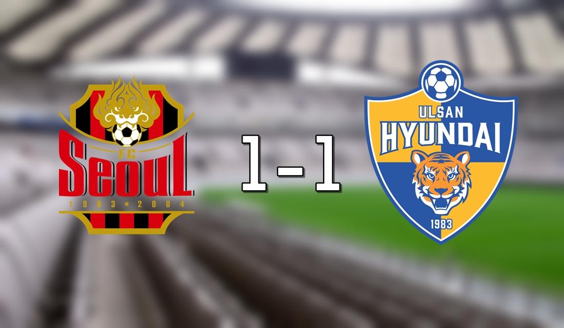 Seoul 1-1 Hyundai
