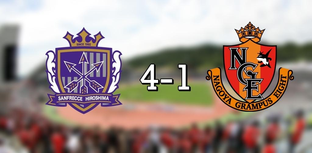 Hiroshima 4-1 Nagoya