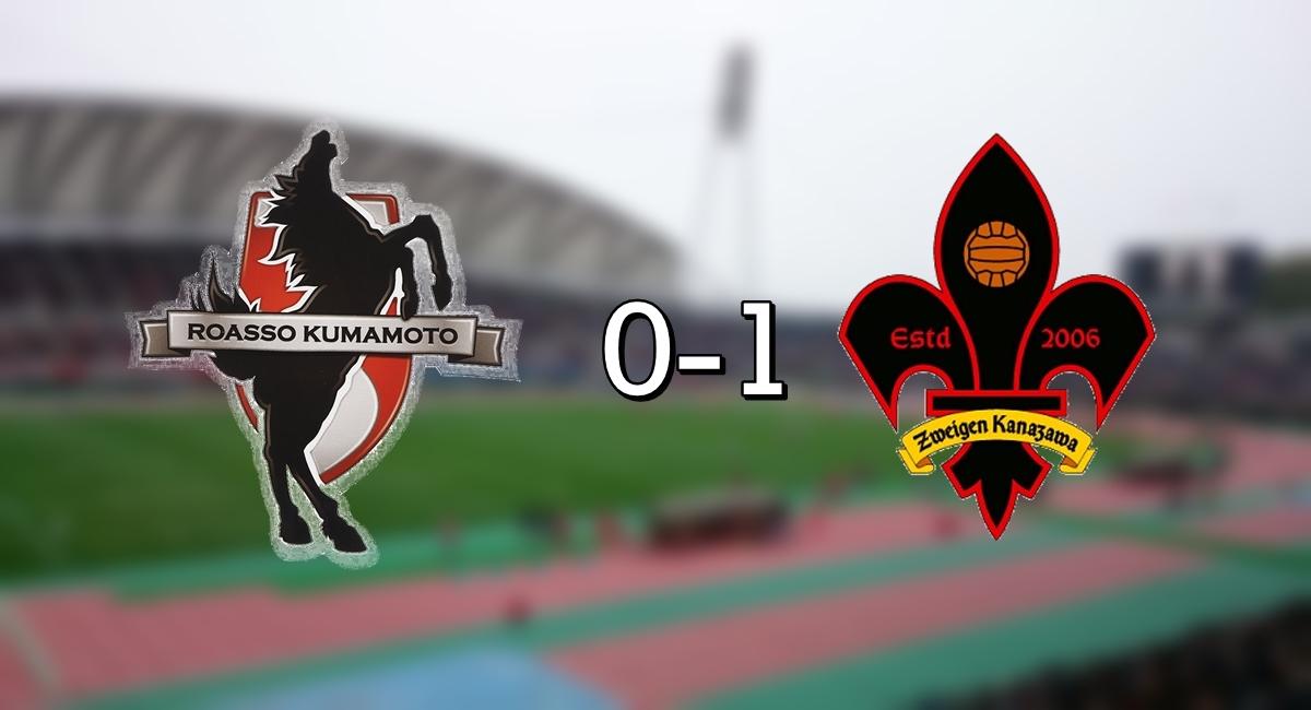 Kumamoto 0-1 Kanazawa