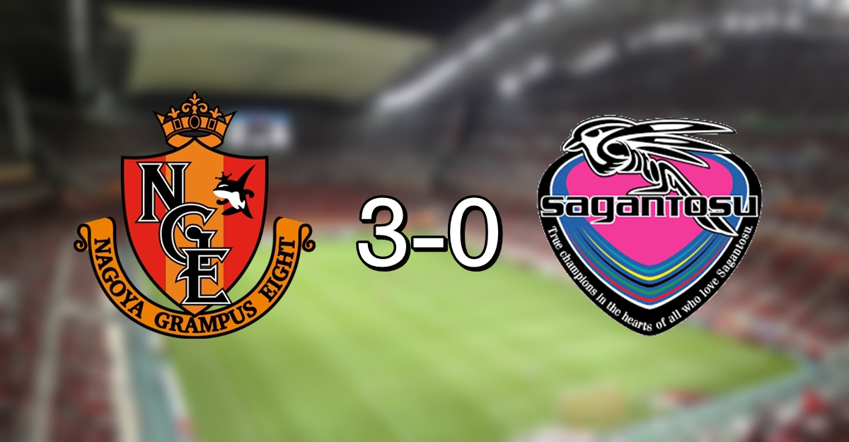 Nagoya 3-0 Tosu