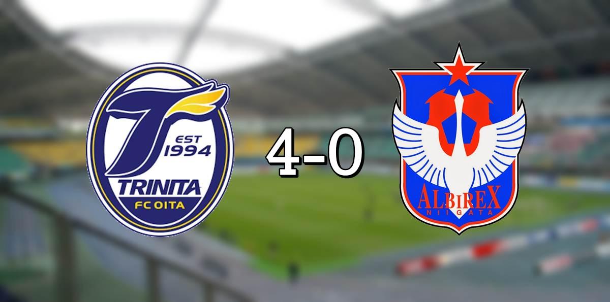 Oita 4-0 Niigata