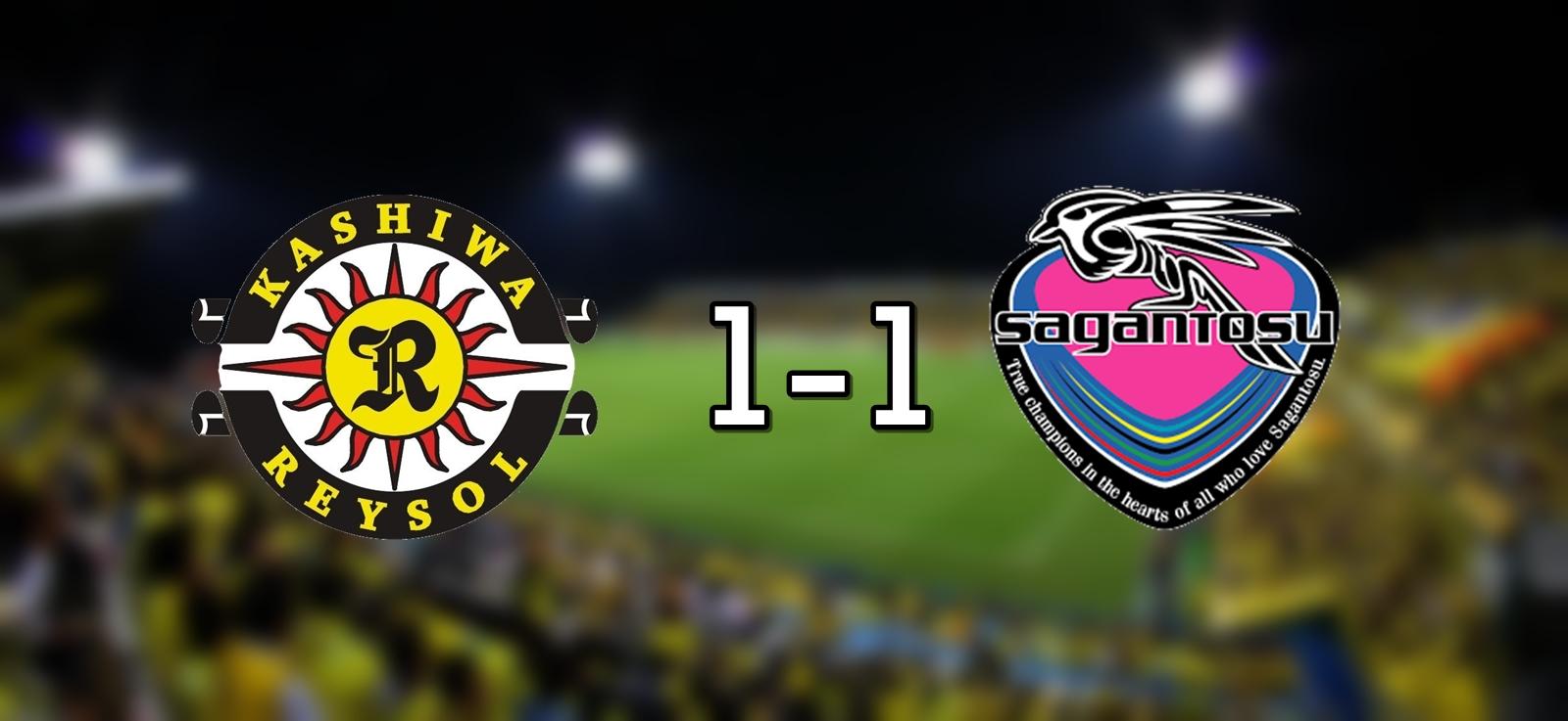 Kashiwa 1-1 Sagan