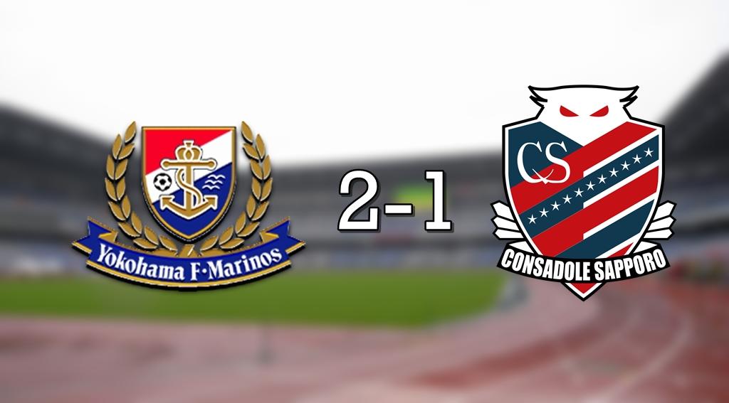Marinos 2-1 Sapporo