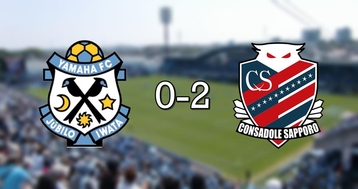 Jubilo 0-2 Sapporo