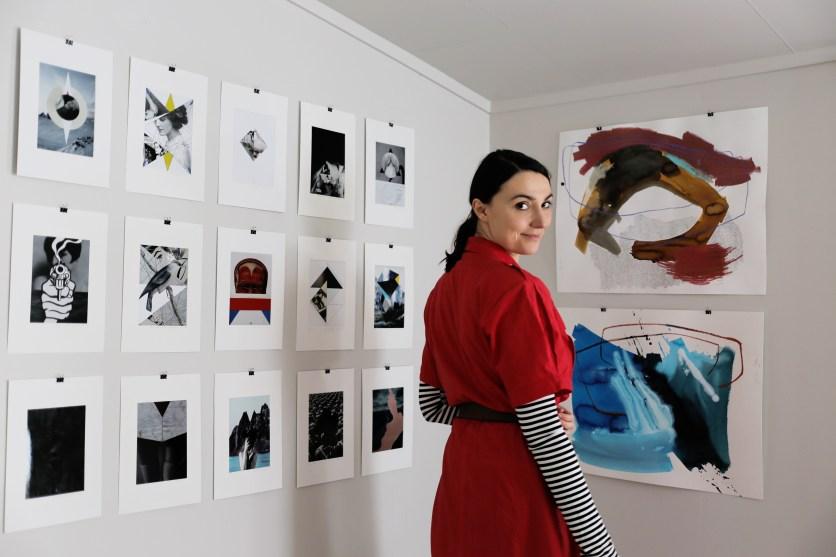 Joanna John in Segla Gallery 5