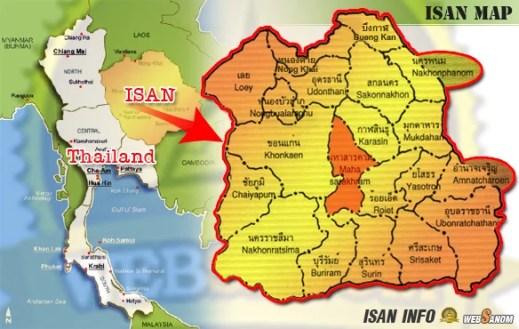 Mapa Issan, Tajlandia, Maha Sarakham