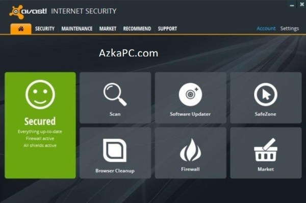 Avast Internet Security 21.7.2484 Crack + serial key Latest Version [2021]
